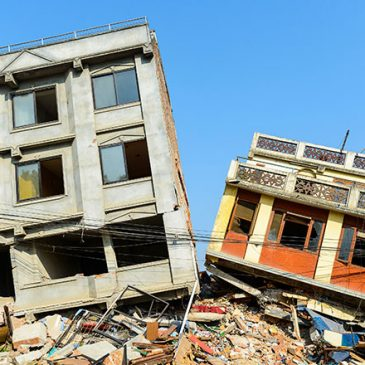 Satellite communication for emergency assistance in the recovery of natural disasters