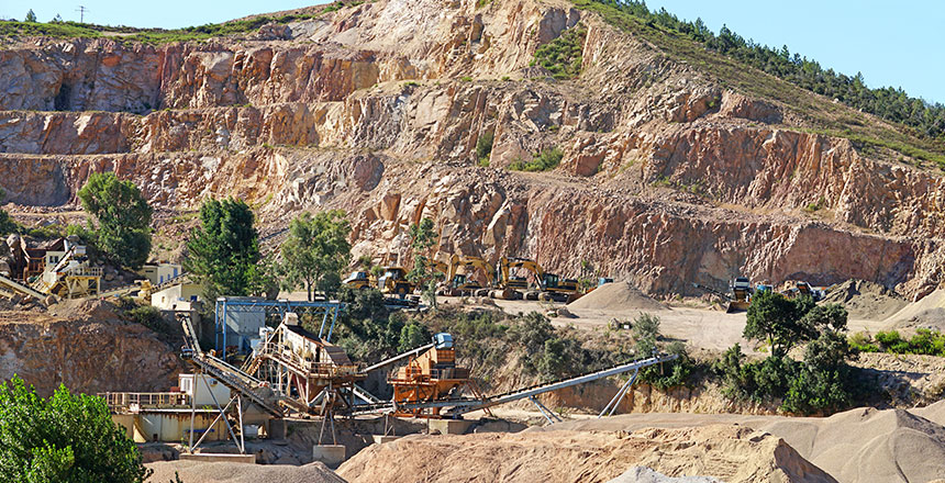 Satellite Solutions for Mining Industry