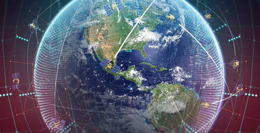 Back-up satellite internet